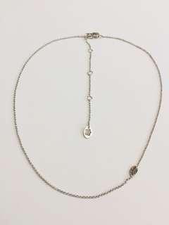 Juicy Couture 簡單款銀色頸鍊