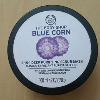 BLUE CORN 3-In-1 Deep Purifying Scrub Mask