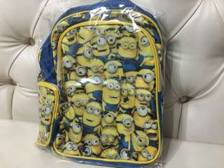 Brand new with tag minion Backpack