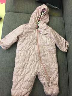 Baby Winter One piece outfit size 60