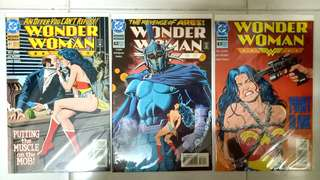 DC COMICS WONDER WOMAN #81, 82 & 83