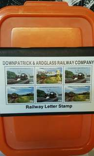 Railway letter stamps.