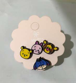 .RS. Winnie the Pooh Family Ear Stud