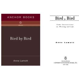 [Ebook] Bird by Bird: Some Instructions on Writing and Life [Epub]