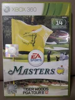 PGA Master Tiger Woods 2012