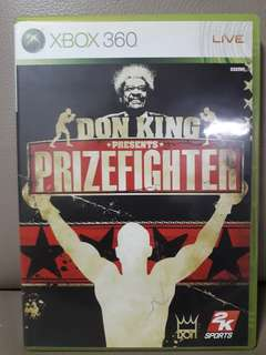 Don King Prize fighter