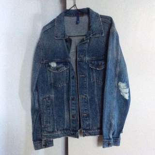 H&M New York denim jacket