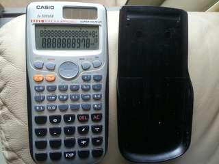 Casio fx-50FH II calculator HKEAA Approved