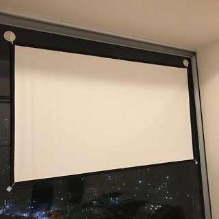 """84"""" Projector Screen 玻璃纖維 投影機螢幕 (另有60吋72吋"""