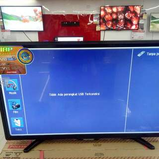 "Kredit LED TV Polytron 40"" Digital TV"