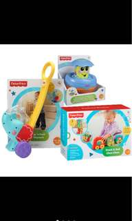 3 x NEW Fisher Price Toys