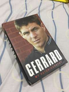 Gerrard My Autobiography 2006 HardCover Book