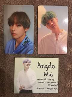 WTS BTS Love Yourself Her PCS