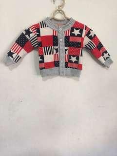 Fleece Baby Cardigan/Jacket 2T