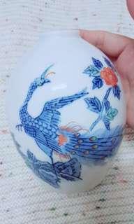 Japan vintage phoenix vase