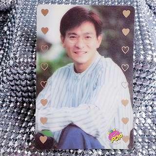 劉德華 Andy Lau 華仔 絕版 PopCard  Pop Card Pop咭 Pop卡