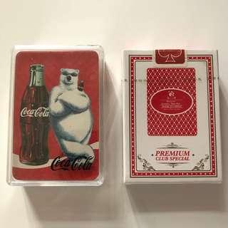 全新可口可樂北極熊撲克牌 + Dunxin Playing Card 撲克牌