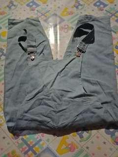 Jumper pants/denim pants/ denim jumper