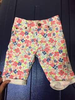 Oshkosh B'Gosh Floral Pants 18-24mos