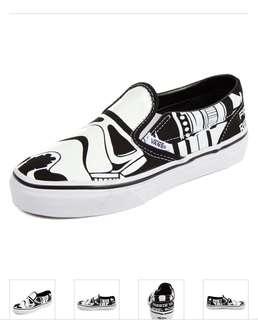BNIB Vans Star Wars Storm Trooper Sneakers / Star Wars Shoes