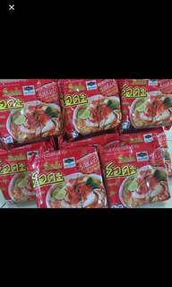 Tom yam instant noodle
