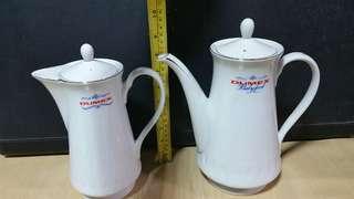 Vintage DUMEX Teapot x 2pcs