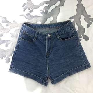 American Apparel Inspired Cuff shorts