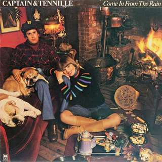 captain & tennille Vinyl LP, used, 12-inch original pressing