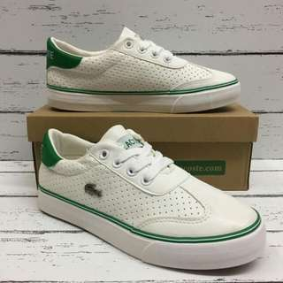 #LACOSTE LEATHER SHOES