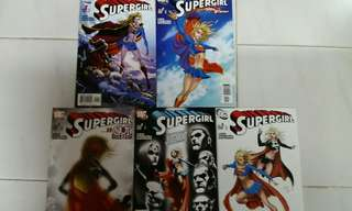 DC COMICS SUPERGIRL #1 - 5