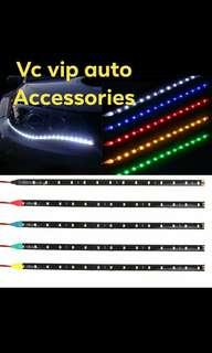 2pcs 12V led strip light for headlamp lid 30cm