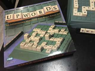 Upwords word board Game