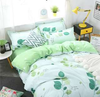 全新 舒適純棉床單套裝  枕袋  床單  被袋  床上用品
