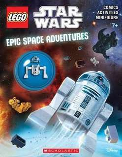 Lego Star Wars Activity Book w/ Minifig