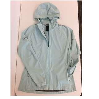 Adidas Women's Slim Light Blue Climaproof Jacket