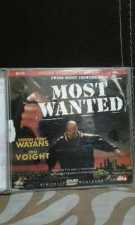Vcd  Most wanted  Pickup hougang buangkok mrt  Or add $1 postage
