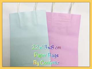 Paper bags for goodies pack