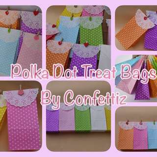 Polka Loot bags for party