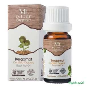 澳洲原裝進口Mt.retour Bergamot 有機佛手柑單方精油