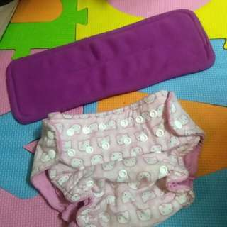 Hello Kitty Cloth Diaper