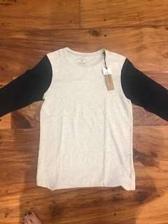 Cotton on baseball shirt
