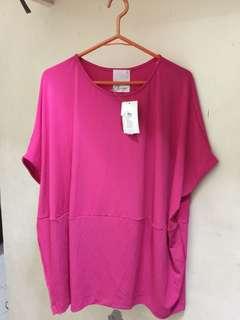 Kashieca Pink Oversized blouse