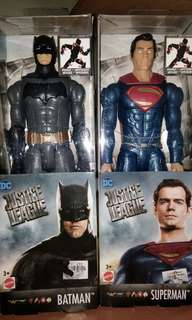 Justice League True Moves Series - Superman and Batman