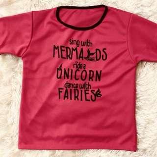 S4 - Women Statement Shirt (mermaid)
