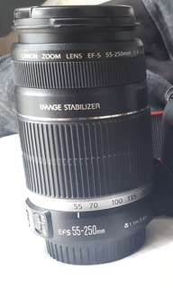 55-250 IS Canon Zoom Lens