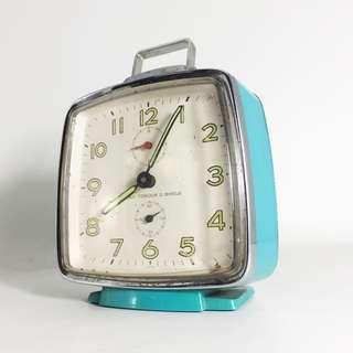 1960s Seiko Corona 2 Jewels Alarm Clock (SCC-01-1217-06)