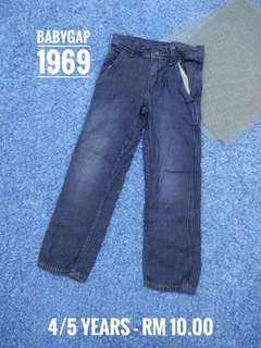 4/5 years - BabyGap Jeans Girl
