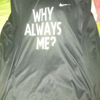 Baselayer Nike Why always me