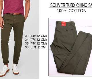 Branded Soliver Chino Sage