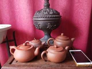 50年代宜興紫砂茶壺